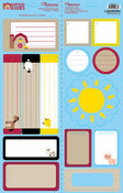 Barnyard Buddies Tag Cardstock Stickers