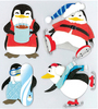Penguin Play 3D  Stickers - Jolee's Boutique