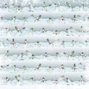 Snowman Parade Paper - Karen Foster