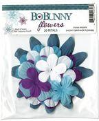 Snowy Serenade Flowers by Bo Bunny