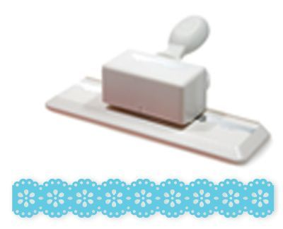 Doily Lace Trim Double - Edge Punch by Martha Crafts