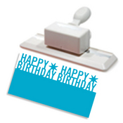 Happy Birthday Deep Edge Punch by Martha Stewart