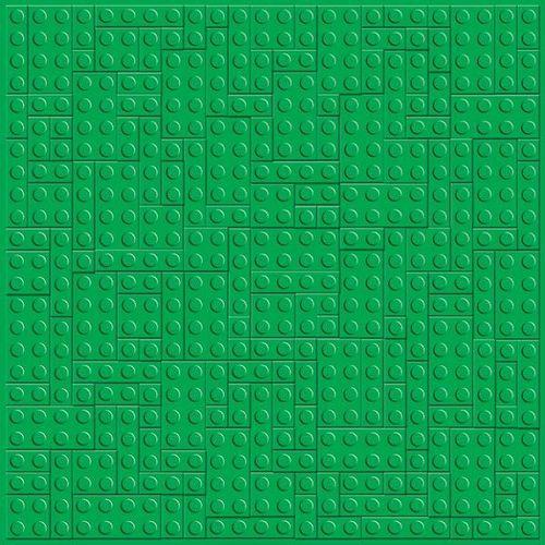 Creative Imaginations > LEGO > LEGO Classic > Green Brick Embossed ...