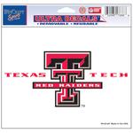 Texas Tech University NCAA Decal
