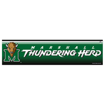 Marshall University NCAA Bumper Sticker
