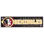 Florida State University Bumper Sticker
