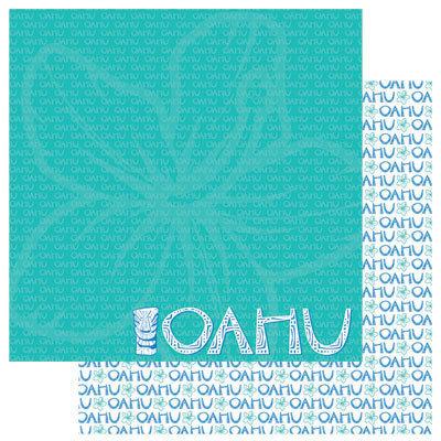 Oahu 12x12 Paper - Reminisce