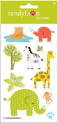 Safari Fever Stickers - Sandylion