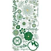 Always Green Sparkling Rubs by Basic Grey