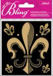 Fleur De Lis Bling  Stickers - Jolee's All That Bling