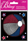 Patriotic Ball Bling  Stickers - Jolee's All That Bling
