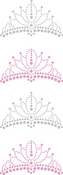 Tiaras Bling  Stickers - Jolee's All That Bling