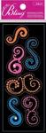 Mini Flourish Bling  Stickers - Jolee's All That Bling