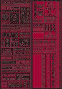 Valentine's Night Quote Stickers
