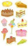Desserts - Mrs Grossman's Stickers