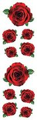 Red Roses - Mrs Grossman's Stickers