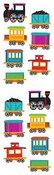 Chubby Train - Mrs Grossman's Stickers