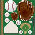 Baseball Icons CS Stickers