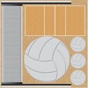 Volleyball Icons CS Stickers