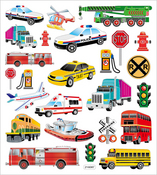 Transportation Stickers