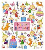Happy Birthday Fairies Stickers