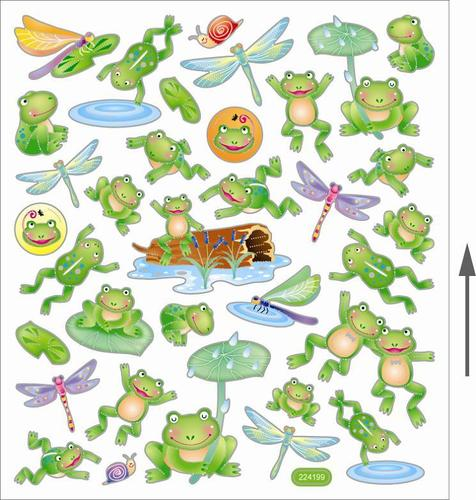 Lily Pond Stickers