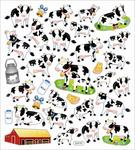 Milk Cows Stickers