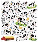 Milk Cows Stickers
