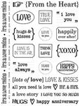 Love Sentiments Stickers - SRM Press