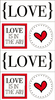 Love Quick Cards Stickers