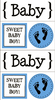 Baby Boy Quick Cards Stickers