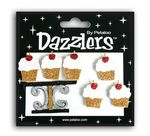 White & Gold Cupcakes & Stand Birthday Dazzlers
