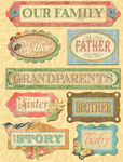 Family Words Grand Adhesions Stickers