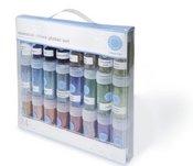 Essential Colors Glitter Set 24pcs - Martha Stewart Crafts