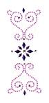 Purple Rain Trim - Jolee's Jeweled Accents