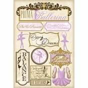 Prima Ballerina Stickers - Karen Foster