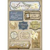 In Loving Memory Stickers Stickers by Karen Foster