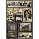 Marching Band Stickers Stickers by Karen Foster