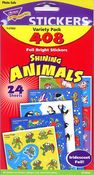 Shining Animals Variety Pack Stickers by Trend