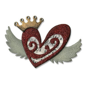 Heart Wings Bigz Die by Sizzix - Tim Holtz Alterations