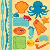 Undersea Adventures Stickers