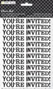 You're Invited Rub-Ons w/Jewels