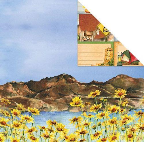 Lake Mead 12x12 Paper