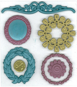 Vintage Frames 3D  Stickers - Jolee's Boutique Parcel
