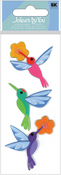 Hummingbirds JBY Slims  3-D Stickers - Jolee's By You