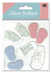 Baby Steps 3D Stickers - Jolee's Boutique