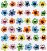 Baby Gems Flowers 3D  Stickers - Jolee's Boutique