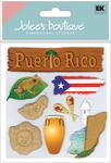 Puerto Rico 3D  Stickers - Jolee's Boutique