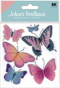 Butterflies 3D Stickers - Jolee's Boutique