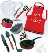 Cooking 3D  Stickers - Jolee's Boutique